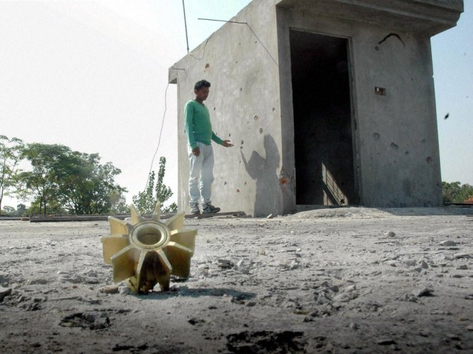 Several residential houses were also damaged in the cross-border firing by Pakistan, reports added. (PTI File Photo)
