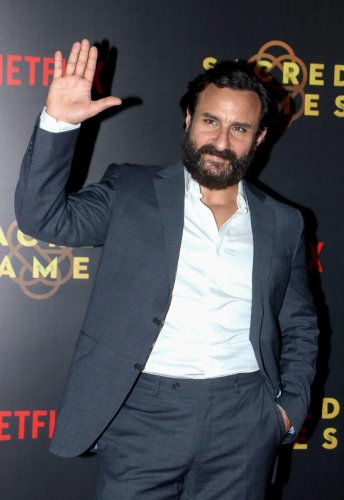 Saif Ali Khan says moving to the digital platform is the 'cleverest' thing he did (PTI File Photo)