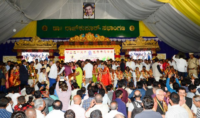 The last year's Kempegowda award ceremony was a picture of utter chaos. DH FILE PHOTO