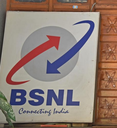 BSNL is one of the companies who have pending license fee. Photo credit: DH