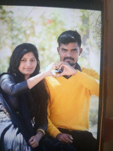 Sushma and Raju in happier times