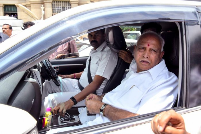 Karnataka Chief Minister B S Yediyurappa. (AFP Photo)