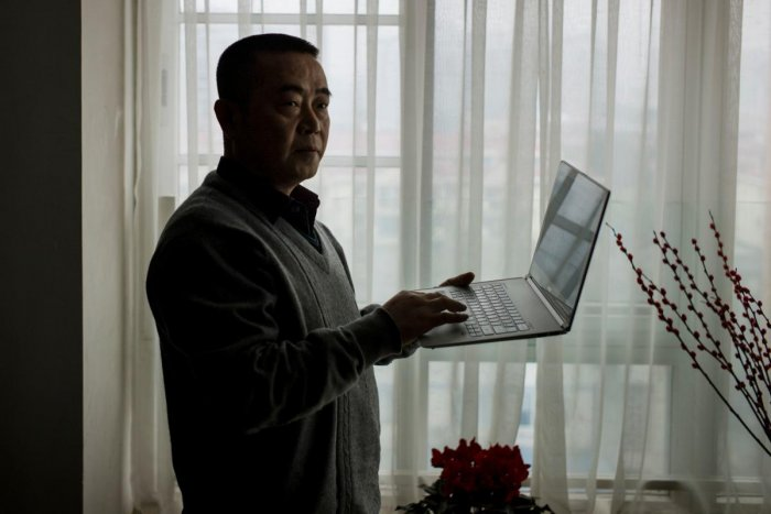Chinese dissident Huang Qi (AFP Photo)