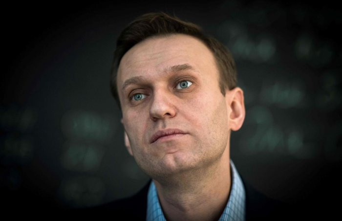 File photo of Russian opposition leader Alexei Navalny. (AFP)