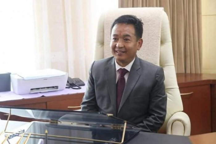 File picture of Sikkim CM Prem Singh Tamang. Photo credit: DH