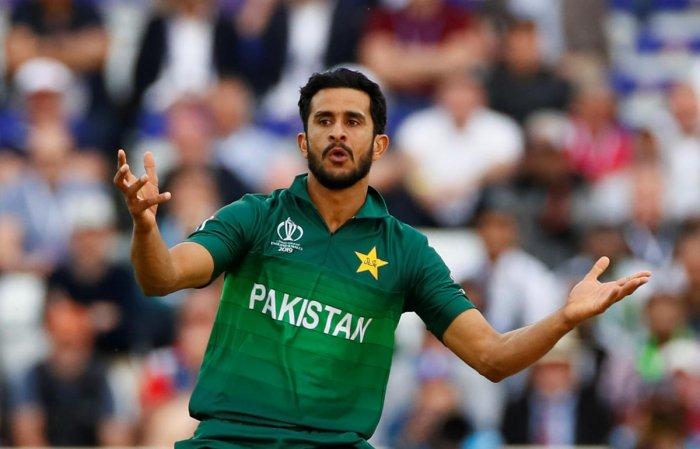 File photo of Pakistan cricketer Hasan Ali. Photo credit: Reuters