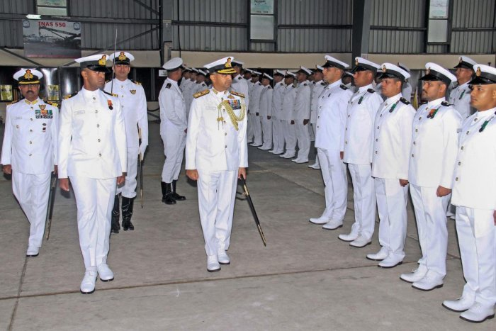 The Navy has started general court-martial against three of its senior officials after they were found guilty of dereliction of duties by a high-level inquiry panel probing a rare accident involving frontline warship INS Betwa in 2016. (PTI Photo)