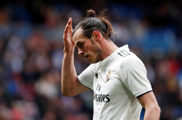 Gareth Bale's future in Real Madrid appears all but over. Photo credit: Reuters