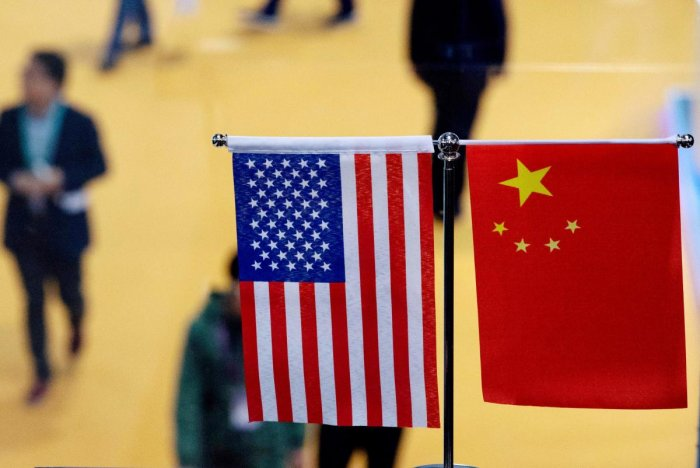 US President Donald Trump took to Twitter Tuesday to slam China, just as US negotiators arrived in Shanghai to resurrect stalled trade talks with Chinese officials. (AFP Photo)