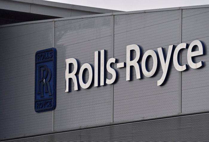 A Rolls-Royce logo. (Reuters Photo)