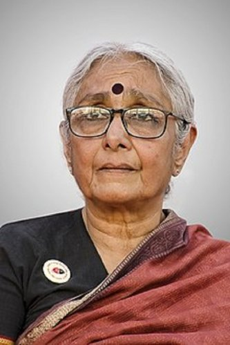 Ramon Magsaysay Award winner and founder of Mazdoor Kisan Shakti Sangathan (MKSS) Aruna Roy (DH Photo)
