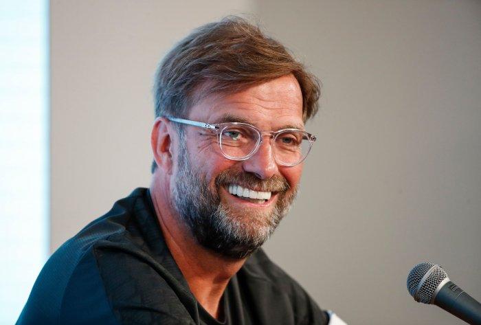 Liverpool coach Jurgen Klopp. (AFP Photo)
