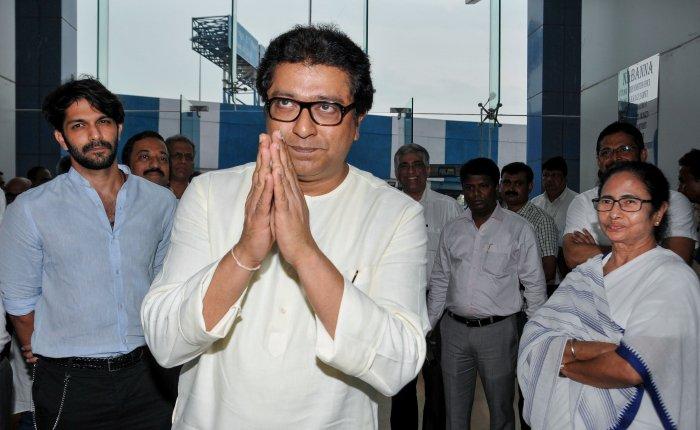 Raj Thackeray and Mamata Banerjee.(PTI Photo)