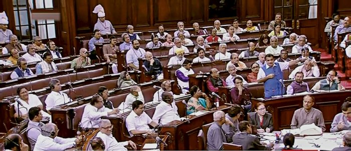 """Opposition on Wednesday accused the BJP-led government of """"clandestinely"""" listing the Triple Talaq bill. (PTI Photo)"""
