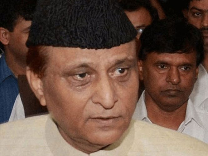 In PTI File photo: Samajwadi Party (SP) leader and party MP Azam Khan