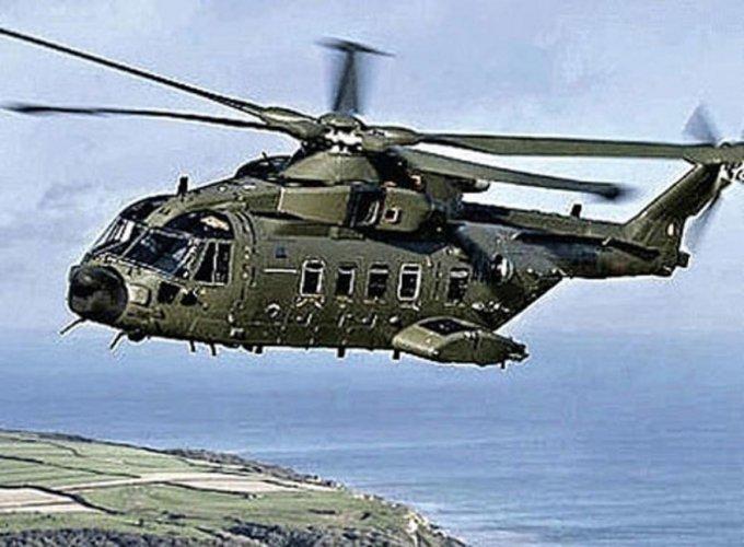 Agusta Westland chopper. (PTI Photo)