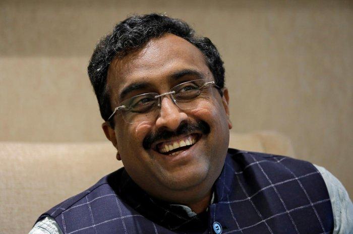BJP general secretary Ram Madhav. File photo