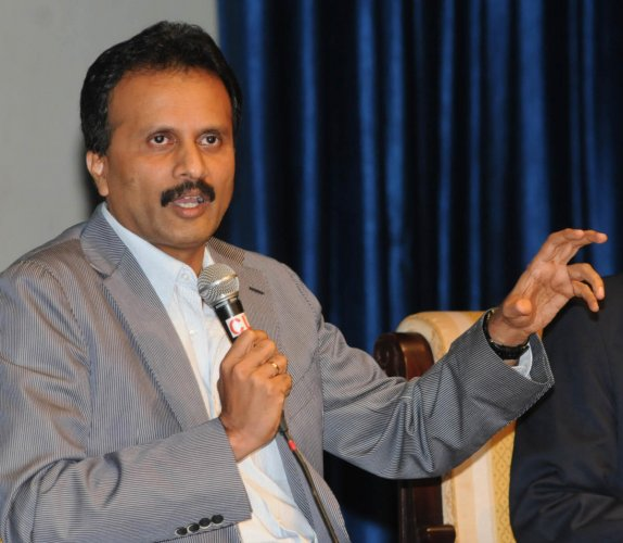 A File Photo of VG Siddhartha, Founder, Cafe Coffee Day. DH photo