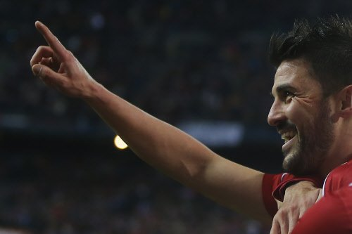 David Villa to retire from international football after World Cup
