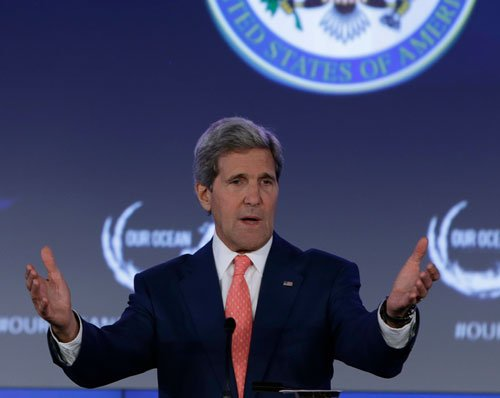 US open to talks with Iran over Iraq: Kerry