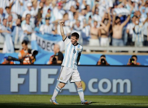 Messi magic enables Argentina beat dogged Iran 1-0