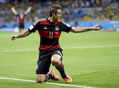Klose retires from international football