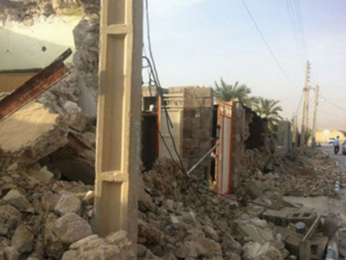 Strong quake hits southwest Iran