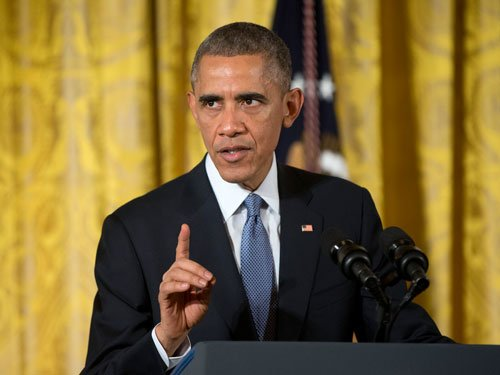 Citing India, China backing Obama blasts opponents of Iran deal