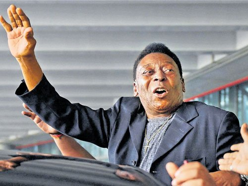 Pele sends football-crazy Kolkata into a tizzy