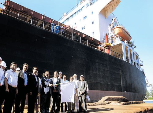 KIOCL all set to ship  66,500 MT of pellets to Iran