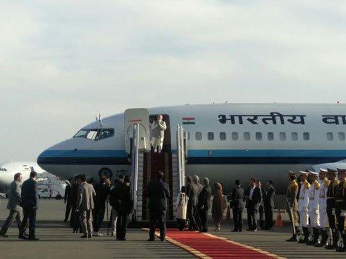 Modi arrives in Iran; Chabahar port,energy ties high on agenda
