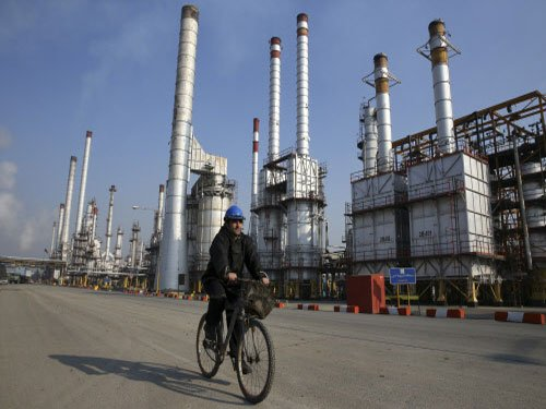 Oil prices dip after Iran says it won't freeze output