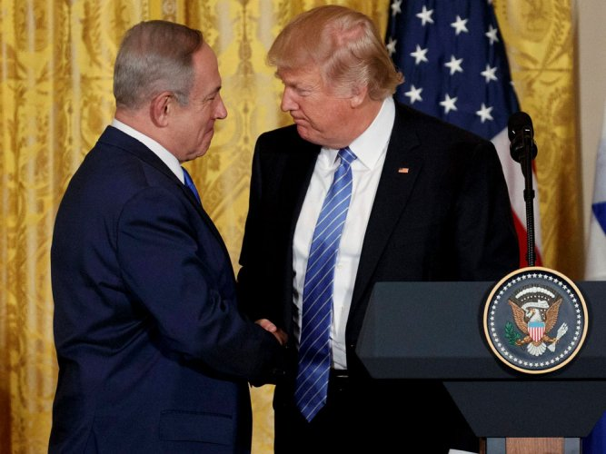 Iran will never get nuclear weapon: Trump tells Netanyahu
