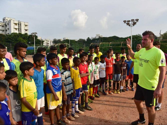 'Indian football going in the right direction'