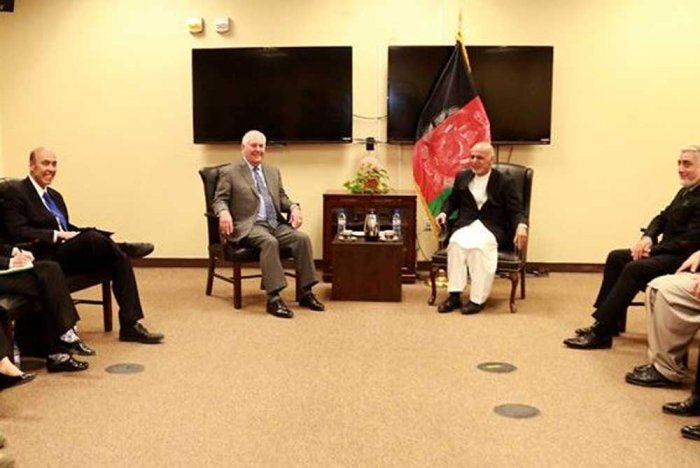 A Meeting in Afghanistan, a Doctored Photograph and Many Questions