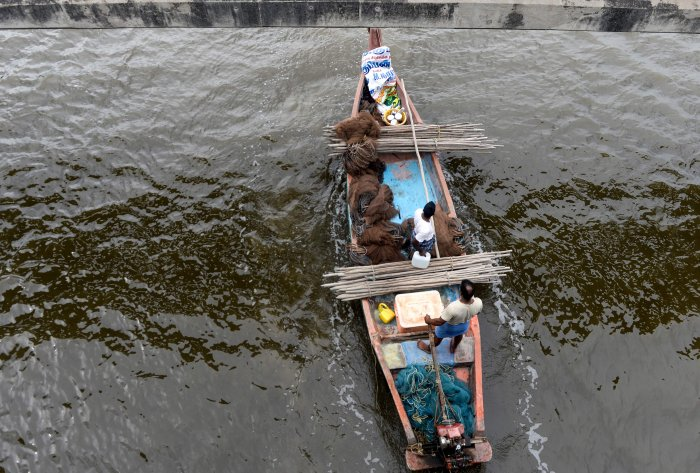 With the 61-day ban on deep sea fishing ending, trawl and purse seine boats will venture out starting Thursday. (AFP Photo)