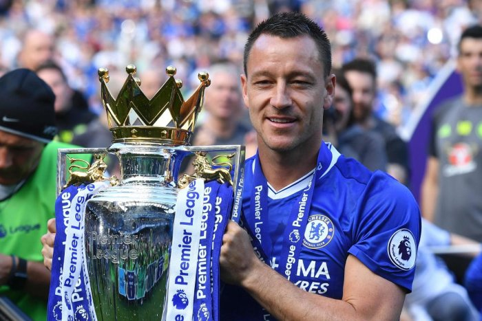 BIDDING GOODBYE: In a wonderful club career, John Terry won five Premier League titles and five FA Cups with Chelsea. AFP