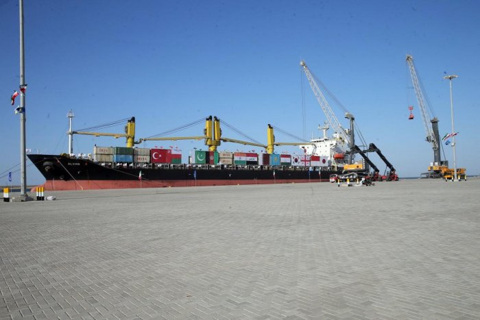 Iran's Chabahar port. AFP file photo