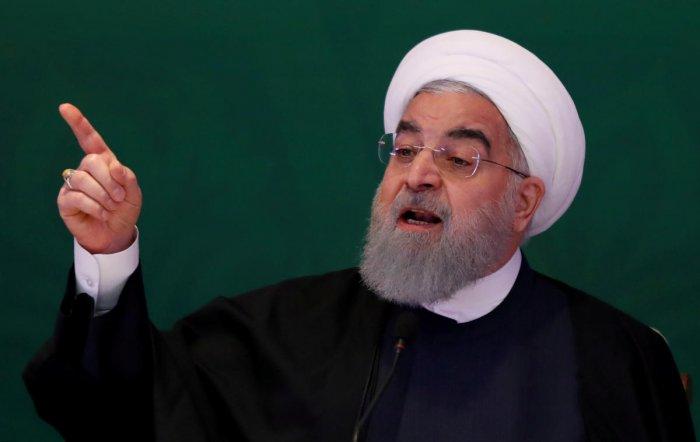 Iranian President Hassan Rouhani. Reuters File photo