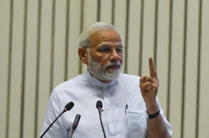 Modi is also expected to attend multiple high-level summits on the margins of the General Assembly session as well as hold bilateral and multilateral engagements during his visit to New York. (AFP File Photo)