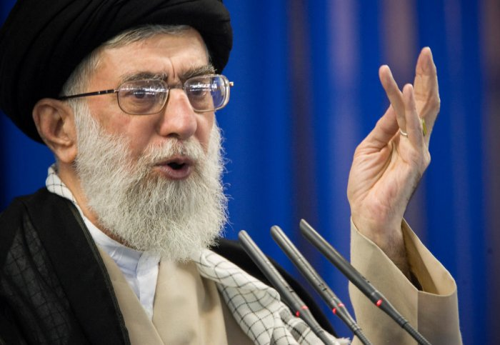 Iran's supreme leader Ayatollah Ali Khamenei said Monday that the country's economic problems were the result of internal mismanagement and not just US pressure. Reuters