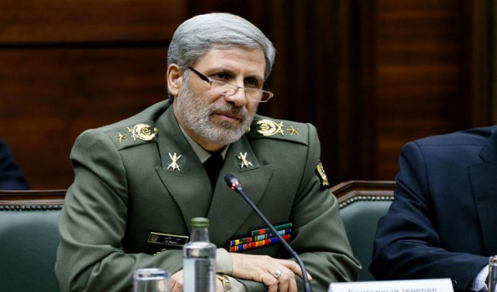 Iran's defence minister unveiled the next generation of Tehran's Fateh Mobin short-range ballistic missile on Monday, according to conservative news agency Tasnim. Picture courtesy Twitter