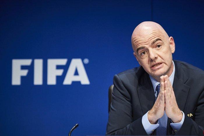 FIFA President Gianni Infantino. Photo credit: AFP