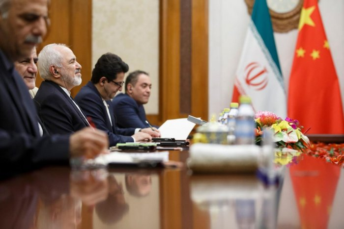 """""""We are certain... there will not be a war since neither we want a war nor does anyone have the illusion they can confront Iran in the region,"""" Mohammad Javad Zarif told state-run news agency IRNA at the end of a visit to China. AFP File photo"""
