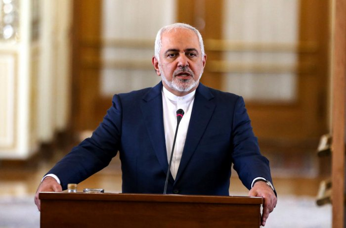Iran's Foreign Minister Mohammad Javad Zarif. (AFP File Photo)