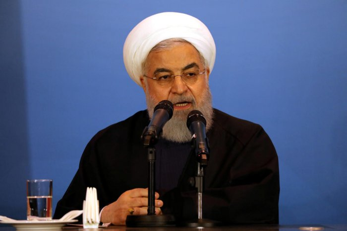 """President Hassan Rouhani's order to exceed the threshold would be implemented """"in a few hours"""" after the last technical details were sorted, Iran's Atomic Energy Organisation spokesman Behrouz Kamalvandi said live on state television. (Reuters File Photo)"""