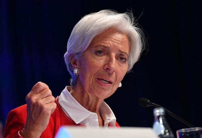 The IMF plans to select a new leader to replace Christine Lagarde at the global crisis lender by October 4, 2019 (AFP File Photo)