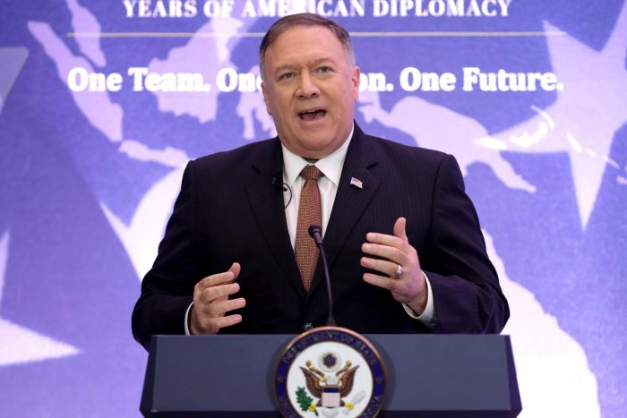 Secretary of State Mike Pompeo (AFP Photo)