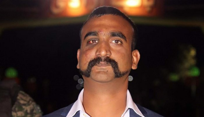 The character in the game looks like handlebar-mustached wing commander Abhinandan Varthaman. (DH photo)