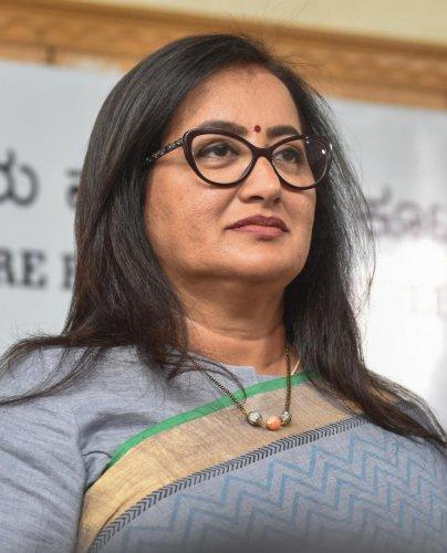 Independent MP from Mandya, Sumalatha Ambareesh. (File Photo)